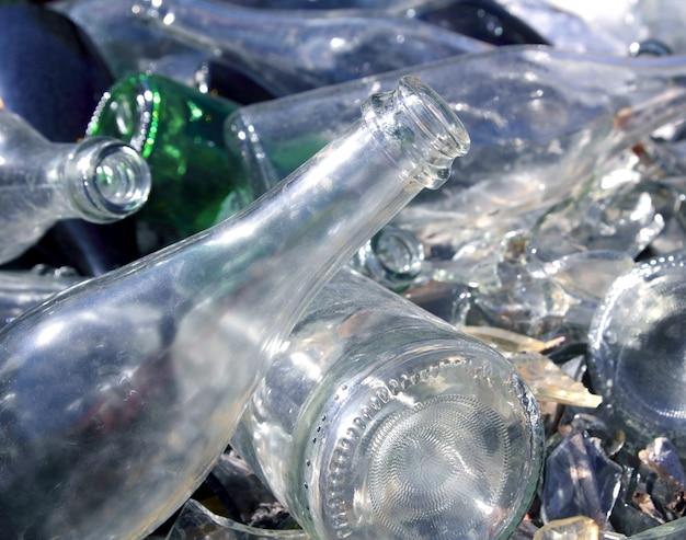 ボトルガラスリサイクルマウンドパターン
