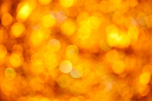 Абстрактный золотой размытый фон огни