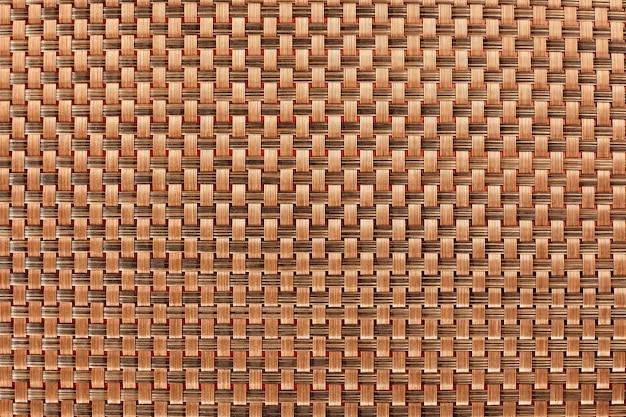 茶色のテーブルクロスの背景テクスチャパターン