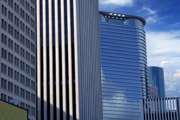 Центр города хьюстон, техас, городские здания