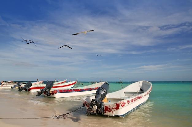 Ривьера майя мексика лодки пуэрто морелос