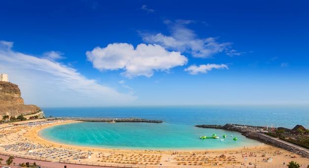 グランカナリア島のアマドレスビーチ