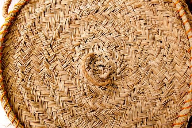 Эспарто круглый плетеный круг ручной работы испания