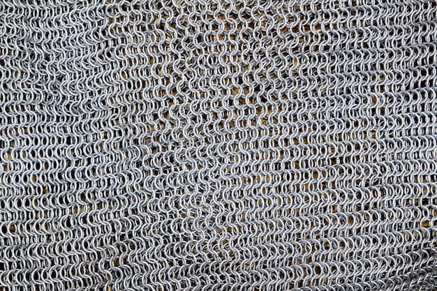 アンティーク騎士金属刀保護ネットパターン
