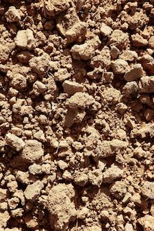農夫の粘土赤農業織り目加工土