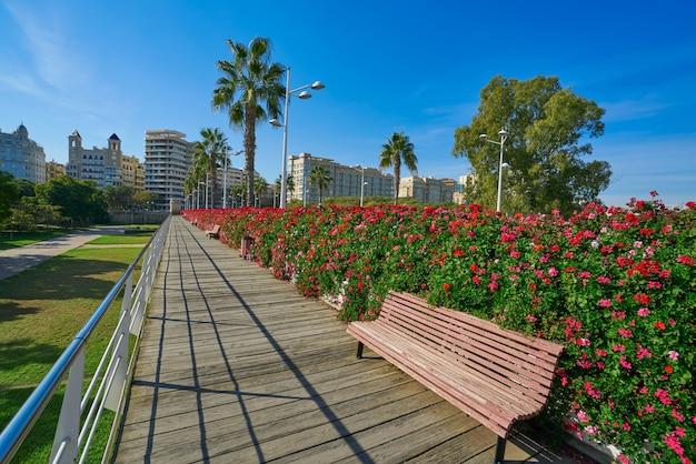 Валенсия пуэнте-де-лас-флорес цветы мост