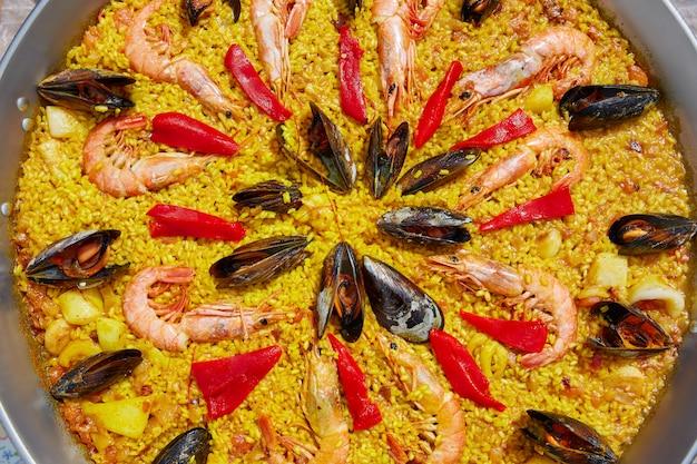 スペイン産シーフードパエリアバレンシアレシピ