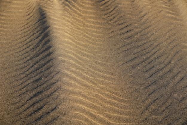 コスタドラダの砂丘ビーチ砂のテクスチャ