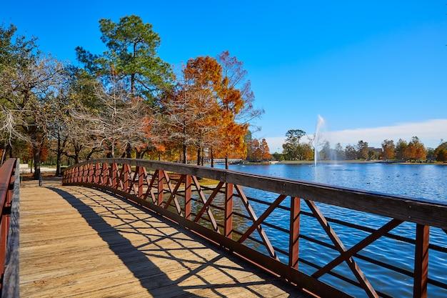 ヒューストンヘルマンパークマクガバン湖