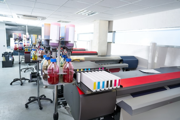 織物のための印刷産業の移動紙プリンター