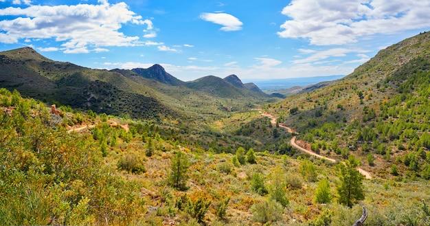 Гора кальдерона в валенсии, испания