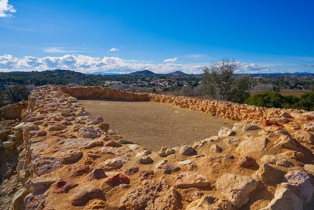 Руины иберийцев в валлезе патерны испанской еще до нашей эры называли ллома де бетси