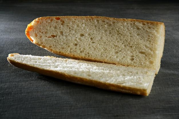 空白のサンドイッチに準備パン