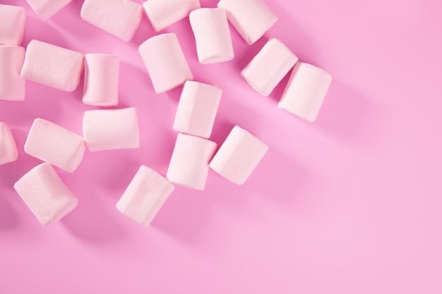 キャンディーピンクマシュマロお菓子