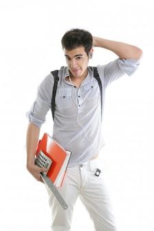 Кавказский студент обеспокоен негативным жестом