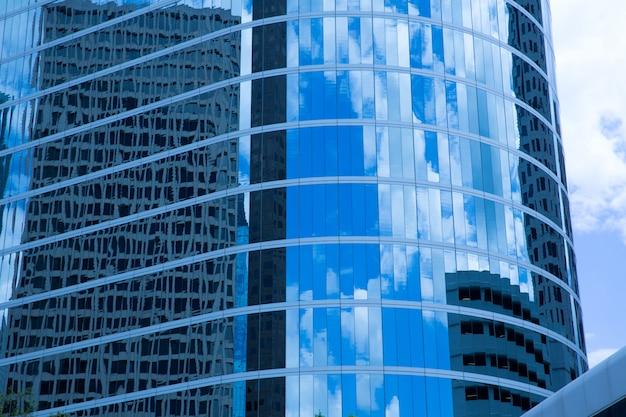 Хьюстон техас центр города зеркальные детали