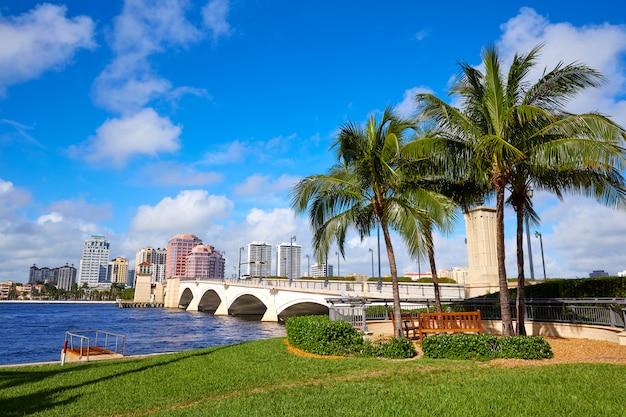 Палм-бич скайлайн королевский парк мост флорида