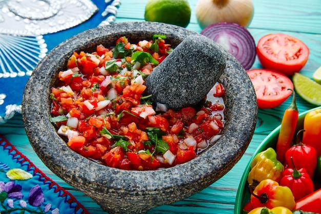 Соус пико де галло из мексики в молькаете