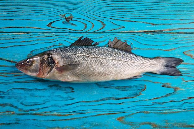 アクアウッドのシーバス新鮮な魚