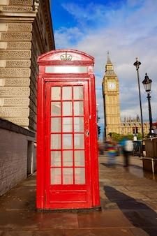 Биг бен часовая башня в лондоне, англия