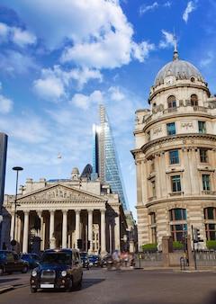 ロンドンロイヤルエクスチェンジビル金融街