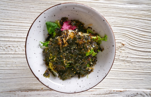のり藻アジアのサラダ大豆もやし門