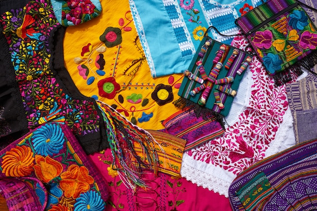 マヤのメキシコの手工芸品のお土産ミックス