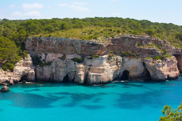 カラマカレラメノルカターコイズバレアレス地中海