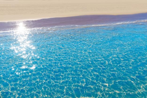 Пляж гандия в валенсии средиземноморье испания