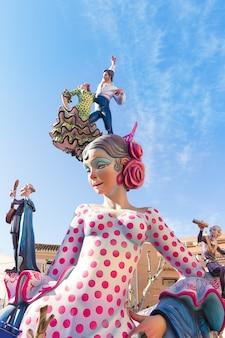 デニアでのバレンシアの大祭り