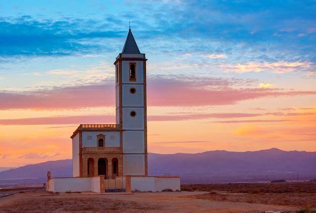 スペインのアルメリアカボデガタサリナス教会