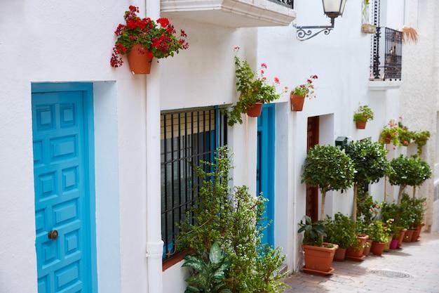 モハカールアルメリア白地中海の村スペイン