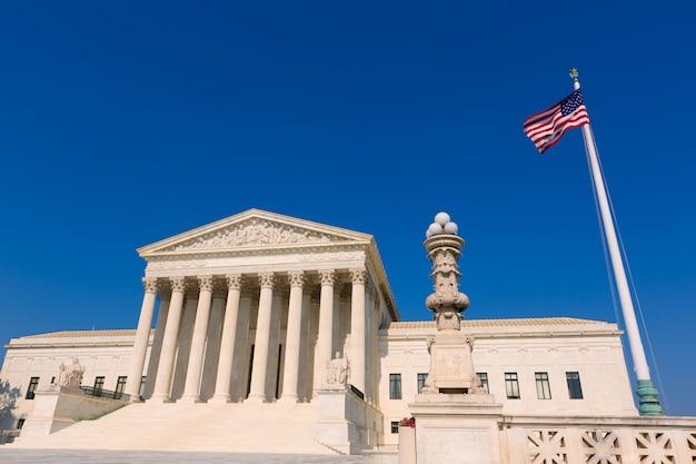 ワシントンの最高裁判所合衆国 Premium写真