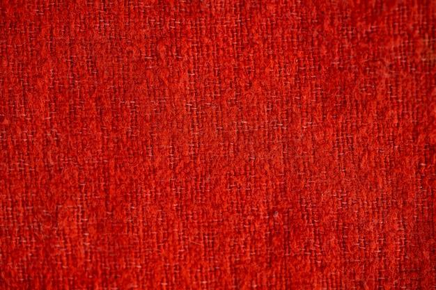 高品質の赤い布のテクスチャ