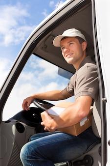 郵便サービス-荷物の配達