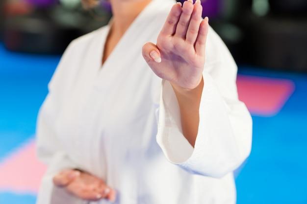 格闘技スポーツジムでのトレーニング