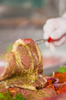 Вкусное мясное блюдо