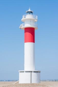 美しい灯台 - 風景の広い眺め