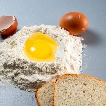 パン生地の準備