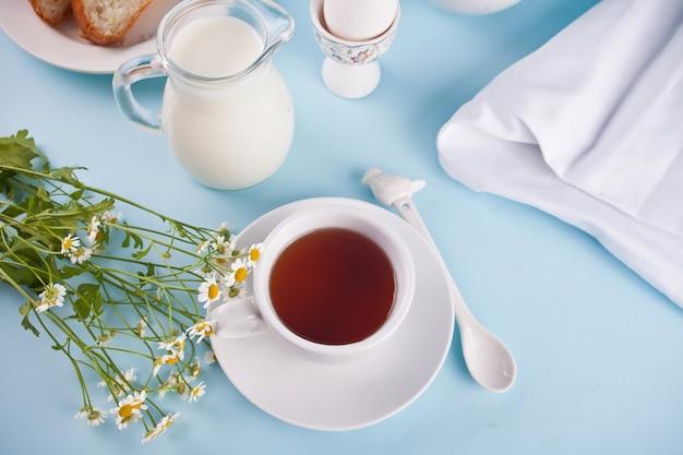 ミルクと紅茶
