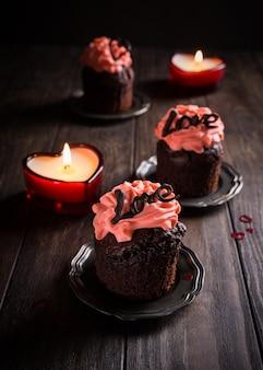 心と美しいチョコレートのクッカペイク