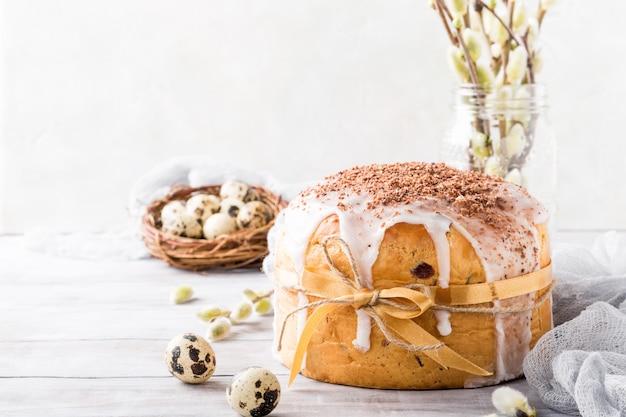 イースター正統派の甘いパン