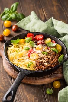 おいしいスパゲッティボローネーズ