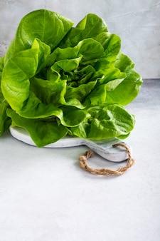 Глава салат из свежих органических салатов