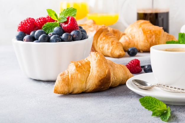 Вкусный континентальный завтрак