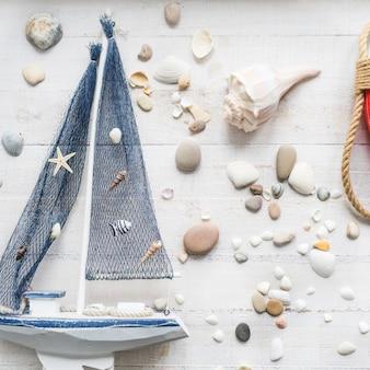 Морская тематика украшений детской комнаты