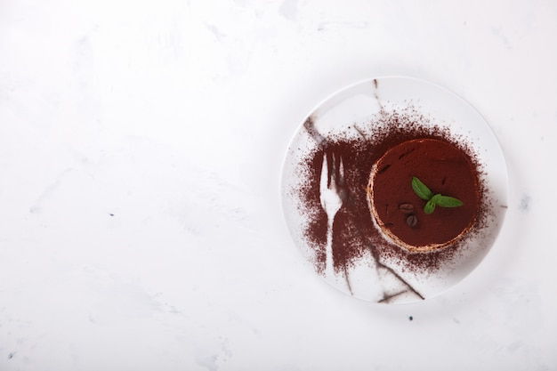 ティラミス、伝統的なイタリアのデザート