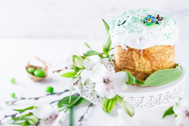 伝統的なイースターケーキ