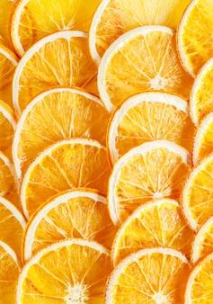 パターン天然オレンジ。夏の背景。