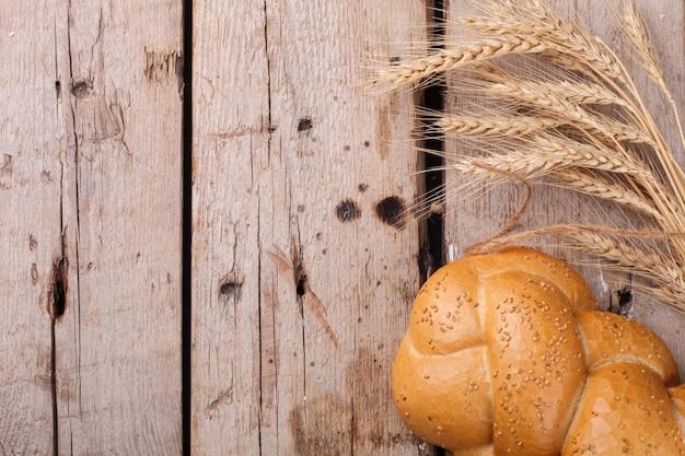 ゴマとカラのパン。